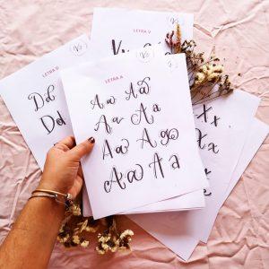 plantilla para lettering